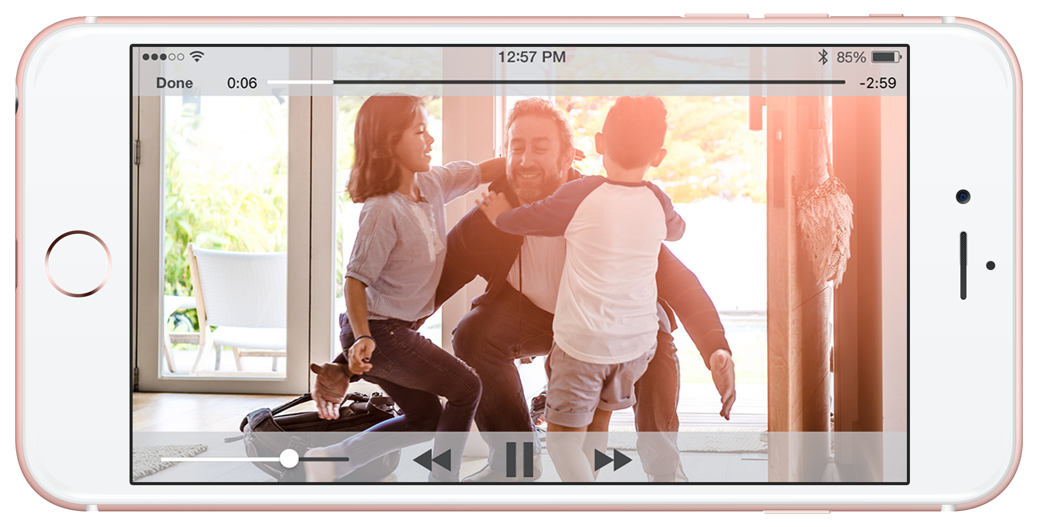 iphone resi video
